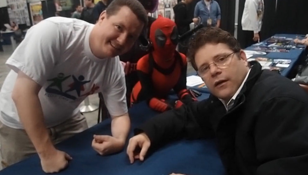 Sean Astin with KCC