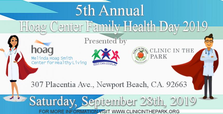 Hoag Center Family Health Day 2019