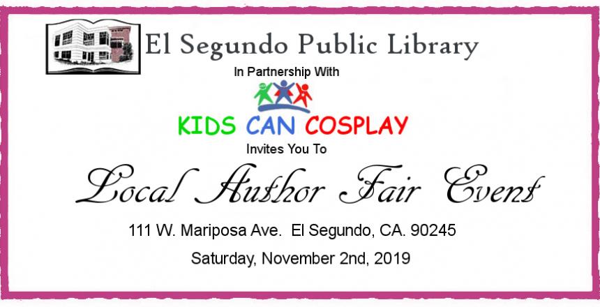 Local Author Fair Event 2019