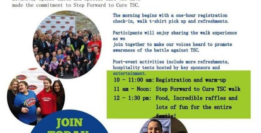 Step Foward to Cure Tuberous Sclerosis Walk 2019