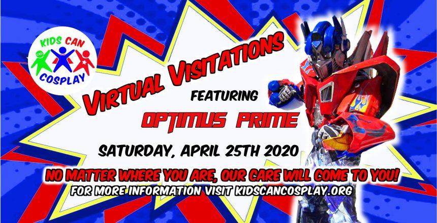 Virtual Visitation with Optimus Prime 2020